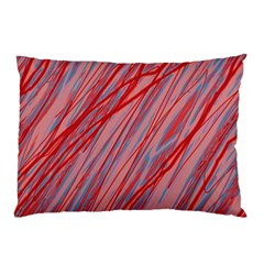 Pink And Red Decorative Pattern Pillow Case (two Sides) by Valentinaart