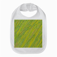 Green And Yellow Van Gogh Pattern Bib by Valentinaart