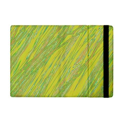 Green And Yellow Van Gogh Pattern Apple Ipad Mini Flip Case by Valentinaart