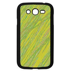 Green And Yellow Van Gogh Pattern Samsung Galaxy Grand Duos I9082 Case (black) by Valentinaart