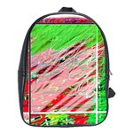 Colorful pattern School Bags(Large)  Front