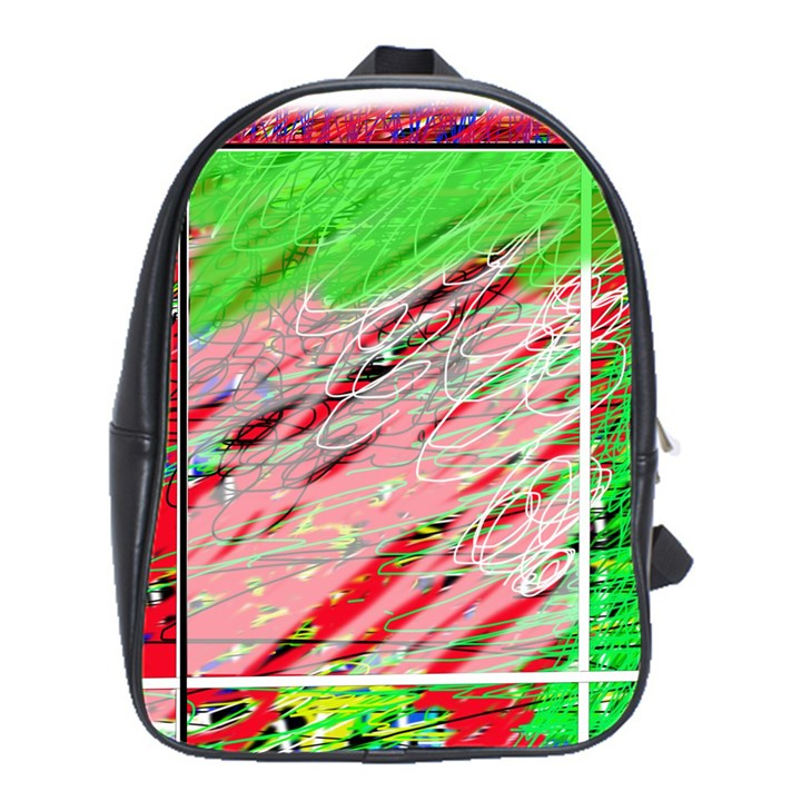 Colorful pattern School Bags(Large)