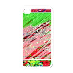 Colorful Pattern Apple Iphone 4 Case (white) by Valentinaart