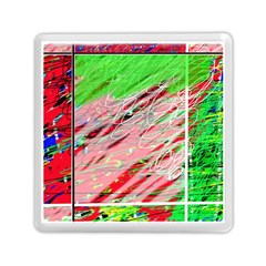 Colorful Pattern Memory Card Reader (square)  by Valentinaart