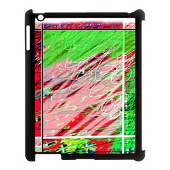 Colorful Pattern Apple Ipad 3/4 Case (black) by Valentinaart