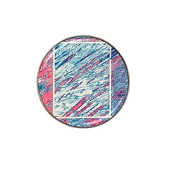 Colorful Pattern Hat Clip Ball Marker (4 Pack) by Valentinaart