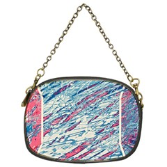 Colorful Pattern Chain Purses (two Sides)  by Valentinaart