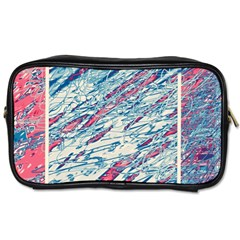 Colorful Pattern Toiletries Bags by Valentinaart