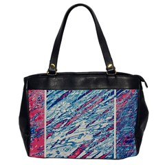 Colorful Pattern Office Handbags by Valentinaart