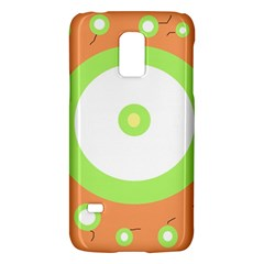 Green And Orange Design Galaxy S5 Mini by Valentinaart