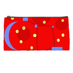 Red Sky Pencil Cases by Valentinaart
