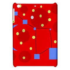 Red Sky Apple Ipad Mini Hardshell Case by Valentinaart