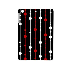 Red Black And White Pattern Ipad Mini 2 Hardshell Cases by Valentinaart
