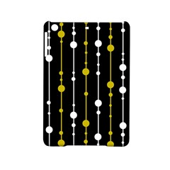 Yellow, Black And White Pattern Ipad Mini 2 Hardshell Cases by Valentinaart