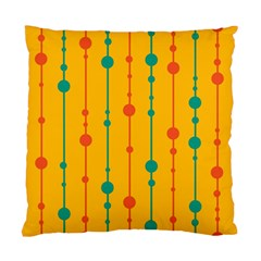 Yellow, Green And Red Pattern Standard Cushion Case (one Side) by Valentinaart
