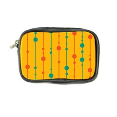 Yellow, Green And Red Pattern Coin Purse by Valentinaart