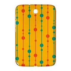 Yellow, Green And Red Pattern Samsung Galaxy Note 8 0 N5100 Hardshell Case  by Valentinaart