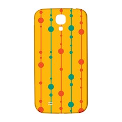 Yellow, Green And Red Pattern Samsung Galaxy S4 I9500/i9505  Hardshell Back Case by Valentinaart