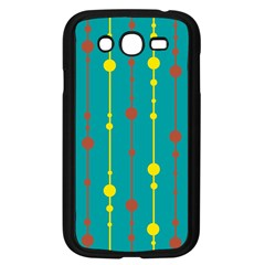 Green, Yellow And Red Pattern Samsung Galaxy Grand Duos I9082 Case (black) by Valentinaart