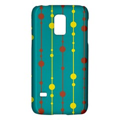 Green, Yellow And Red Pattern Galaxy S5 Mini by Valentinaart