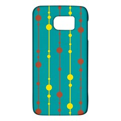 Green, Yellow And Red Pattern Galaxy S6 by Valentinaart