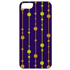Deep Blue, Orange And Yellow Pattern Apple Iphone 5 Classic Hardshell Case by Valentinaart