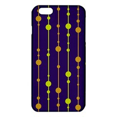 Deep Blue, Orange And Yellow Pattern Iphone 6 Plus/6s Plus Tpu Case by Valentinaart