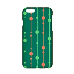 Green Pattern Apple Iphone 6/6s Hardshell Case by Valentinaart