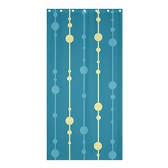 Blue Pattern Shower Curtain 36  X 72  (stall)  by Valentinaart