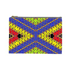 Listen Close Cosmetic Bag (large)  by MRTACPANS