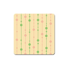Pastel Pattern Square Magnet by Valentinaart