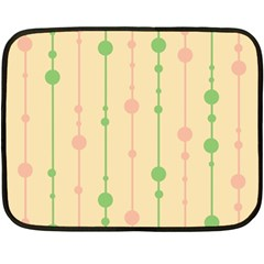 Pastel Pattern Fleece Blanket (mini) by Valentinaart