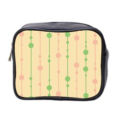 Pastel Pattern Mini Toiletries Bag 2 Side by Valentinaart