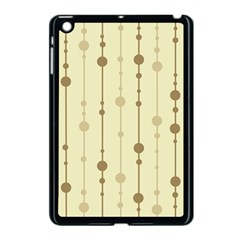 Brown Pattern Apple Ipad Mini Case (black) by Valentinaart