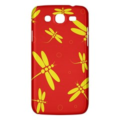 Red And Yellow Dragonflies Pattern Samsung Galaxy Mega 5 8 I9152 Hardshell Case  by Valentinaart