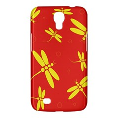 Red And Yellow Dragonflies Pattern Samsung Galaxy Mega 6 3  I9200 Hardshell Case by Valentinaart