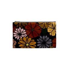 Abstract #418 Cosmetic Bag (small)  by RockettGraphics
