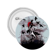 Dancing With Crows 2 25  Buttons by lvbart