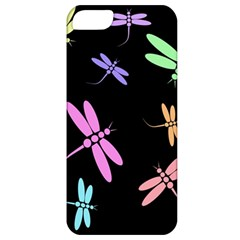 Pastel Dragonflies Apple Iphone 5 Classic Hardshell Case by Valentinaart