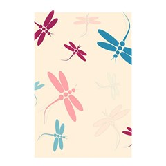 Pastel Dragonflies  Shower Curtain 48  X 72  (small)