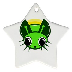 Transparent Firefly Ornament (star)  by Valentinaart