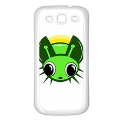 Transparent Firefly Samsung Galaxy S3 Back Case (white) by Valentinaart