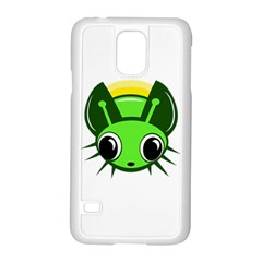 Transparent Firefly Samsung Galaxy S5 Case (white) by Valentinaart