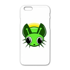 Transparent Firefly Apple Iphone 6/6s White Enamel Case by Valentinaart