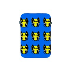 Yellow And Blue Firefies Apple Ipad Mini Protective Soft Cases