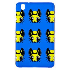 Yellow And Blue Firefies Samsung Galaxy Tab Pro 8 4 Hardshell Case by Valentinaart