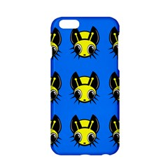 Yellow And Blue Firefies Apple Iphone 6/6s Hardshell Case by Valentinaart