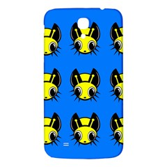 Yellow And Blue Firefies Samsung Galaxy Mega I9200 Hardshell Back Case by Valentinaart
