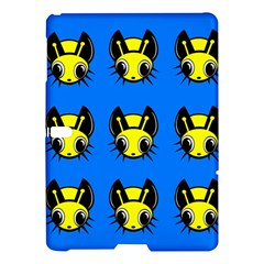 Yellow And Blue Firefies Samsung Galaxy Tab S (10 5 ) Hardshell Case  by Valentinaart
