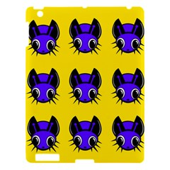 Blue And Yellow Fireflies Apple Ipad 3/4 Hardshell Case by Valentinaart